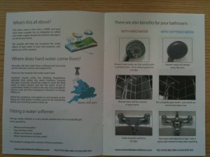 Unbranded Direct Mail Inside Spread
