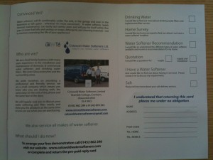 Unbranded Direct Mail Inside Spread 2