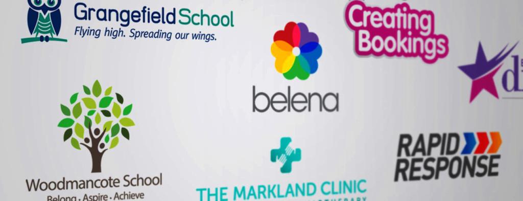 Logo design by Down The Line Design Cheltenham