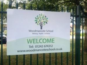 WoodmancoteSign1
