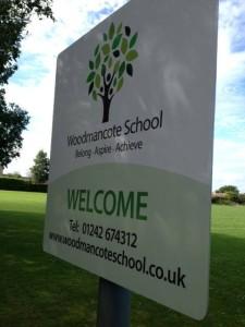 Woodmancote Signage Design