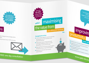 Capita Direct Mail Graphic Design