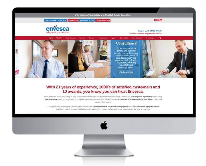 DownTheLine-Envesca-Website-Design