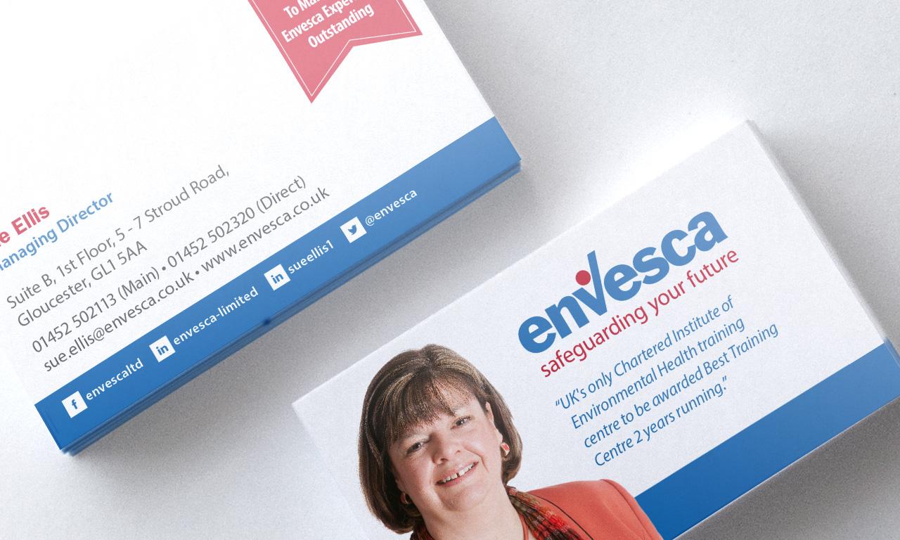 Branding design for Envesca