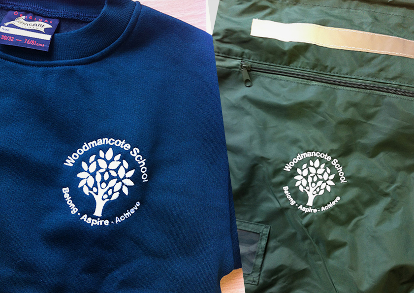 Uniform design for Woodmancote School