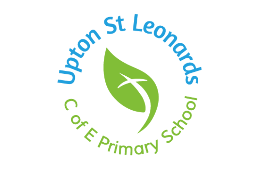 School logo design for Upton St Leonards C of E Primary School